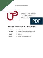 TAR 01 - Newton
