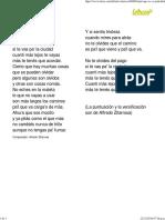 PA'L QUE SE VA - Alfredo Zitarrosa (Impresión)
