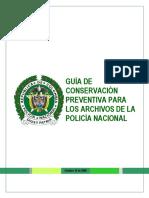 Guia de Conservacion Preventiva para los Archivos de la Policia Nacional.pdf
