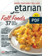 Vegetarian Times, USA  - 2016 - September-October