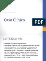 caso clinico lesiones de via biliar