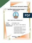 Objeto de La Epdemiologia INFORME
