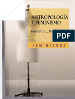 Henrietta L Moore - Antropologia y Feminismo