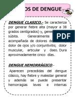 Letreros Dengue
