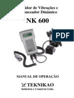 Manual NK600