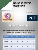ESTADISTICAS DE CENTRO OBSTETRICO trimestral.pptx