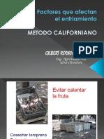 9 Enfriamiento Metodo Californiano