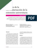 Desafíos de La Curricularización de La Extensión Universitaria
