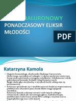 Prezentacja Pokaz Katarzyna Kamola