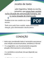 Texto, Textualidade e Textualizacaocead Letras