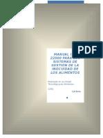 Manual ISO 2200 Lácteos