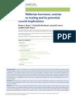 AMH Menopause