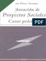Elaboracion de Proyectos Social - PA(c)Rez Serrano, Gloria(Author