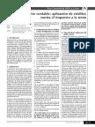 Tratamiento contable de la aplicacion de creditos contra el IR - CB 2013.pdf
