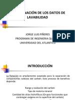 Clase 3. Determinación de los datos de lavabilidad en flotación (1).pdf