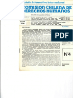 Boletin Internacional n° 4  CCHDH