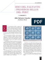 Aldo Salvatteci Amador - El misterio del faltante en los primeros sellos del Perú (Academvs).pdf