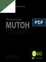 Catalogo Promocion MUTOH