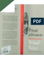 Walzer - Pensar Politicamente