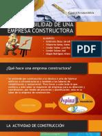 Contabilidad de Una Empresa Constructora