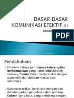 DASAR DASAR KOMUNIKASI EFEKTIF, 2011, (1).ppt