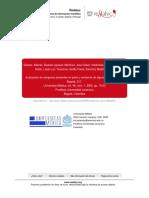 Evaluacion de Alergenos Presentes en Polvo y Ambie