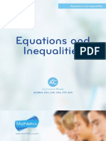 Equations and Inequations