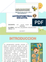 ANTOPOMETRIA INFANTIL