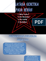 Presentation1 BIOTEKNOLOGI HEWAN