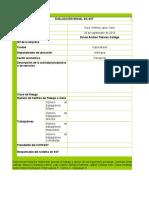 Evaluación Inicial Decreto 1072