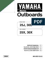 YAMAHA OUTBOARD 30DWH Service Repair Manual X 740451 -.pdf