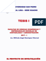 Proyecto de Tesis Oficial Usp