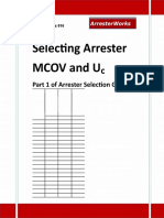 ArresterFacts 016 Selecting Arrester MCOV-Uc.rtf
