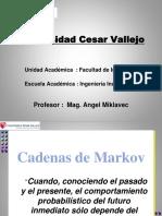 Herramientas Para La Toma de Decisiones Ucv Clase 9 Cadena de Markov 2015 II