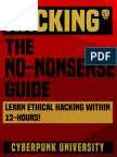 Hacking - The No-nonsense Guide - Learn Ethical Ha