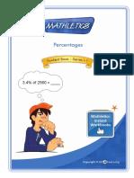 Percentages Revision Booklet
