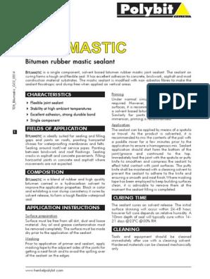 Bit u Mastic | Asphalt | Concrete