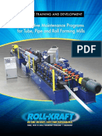 16RKI006 RKI Preventative Maintenance Programs for Tube, Pipe and Roll Forming Mills (ID 96847)