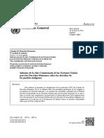 A Hrc 27 30 Spa-Informe Alto Comisionado Pueblos Indigenas Argentina Onu
