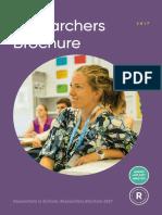 RIS Researchers Brochure 2017