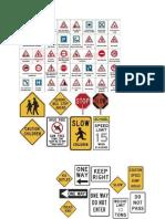 Trffic Signs