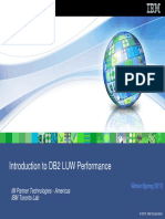 Introduction to DB2 LUW Performance