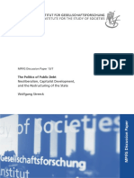 Streeck - The Politics of Public Debt