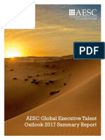 2017 AESC Global Executive Talent Outlook Report