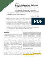 07 Koomnok Diazotroph Endophytic Bacteria in Cultivated