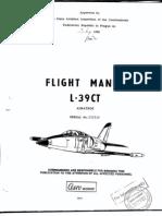 Aero L-39CT Flight Manual