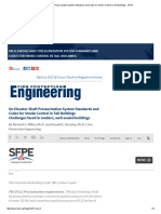 On Elevator Shaft Pressurization System Standards and Codes for Smoke Control in Tall Buildings - SFPE.pdf
