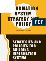 Issp - Part 2 - Strategies and Policies for Building Is