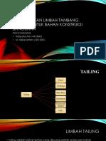 Hidayatul Akli_M Haikal Ahram_Pengolahan Tailing