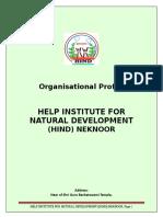 HIND NGO PROFILE